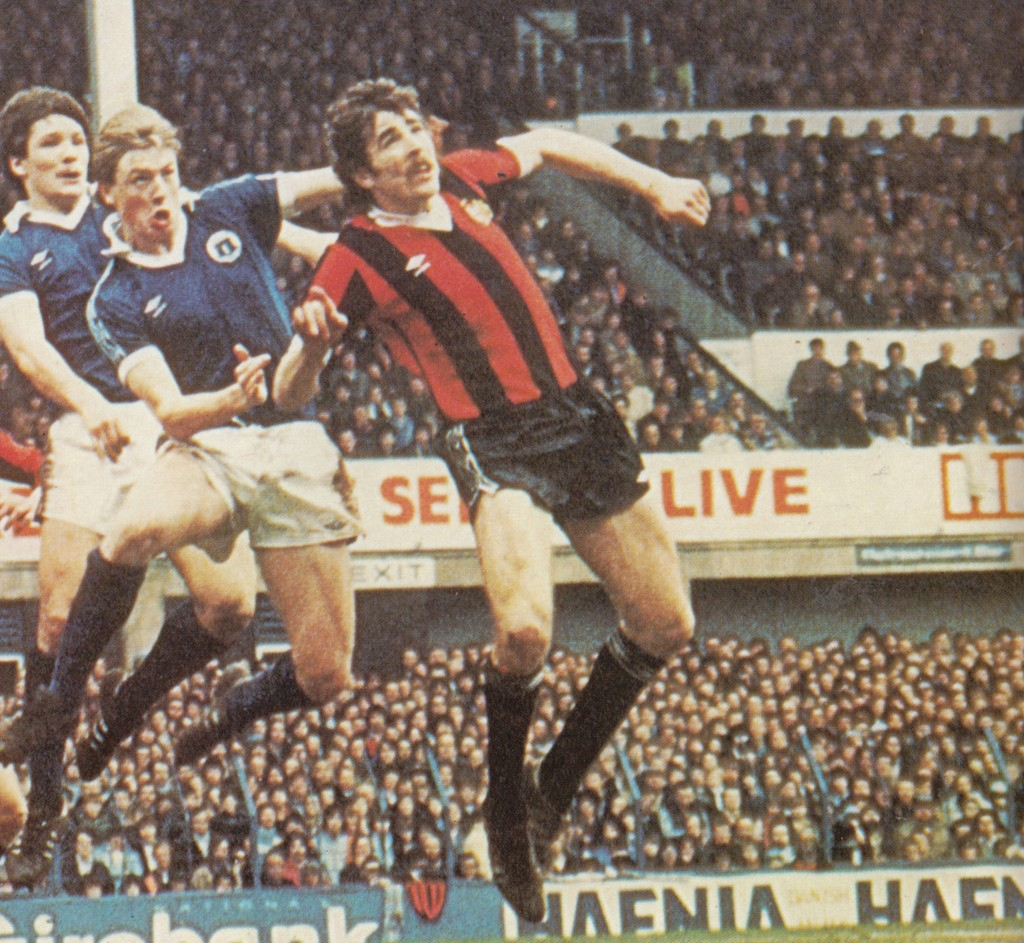 everton away fa cup 1980 to 81 action9