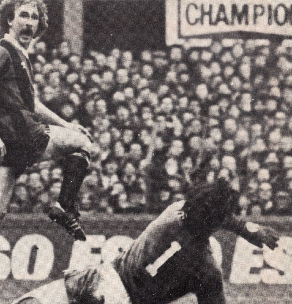 everton away fa cup 1980 to 81 gow goal
