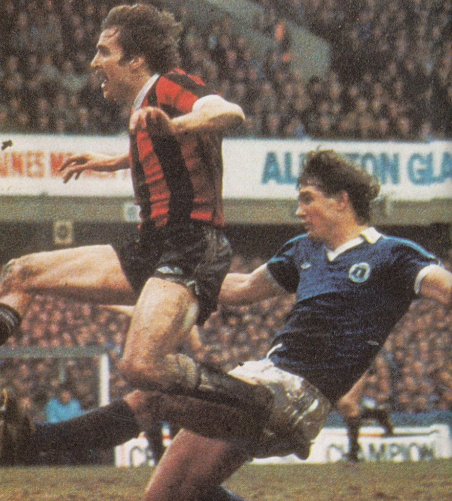everton away fa cup 1980 to 81 power goal5
