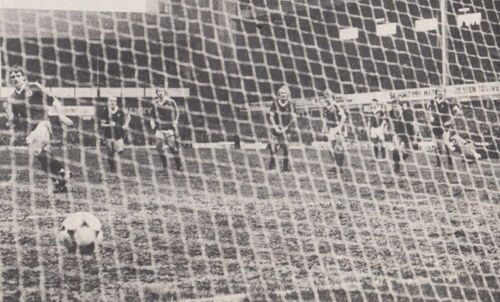 everton away fa cup 1980 to 81 ross goal