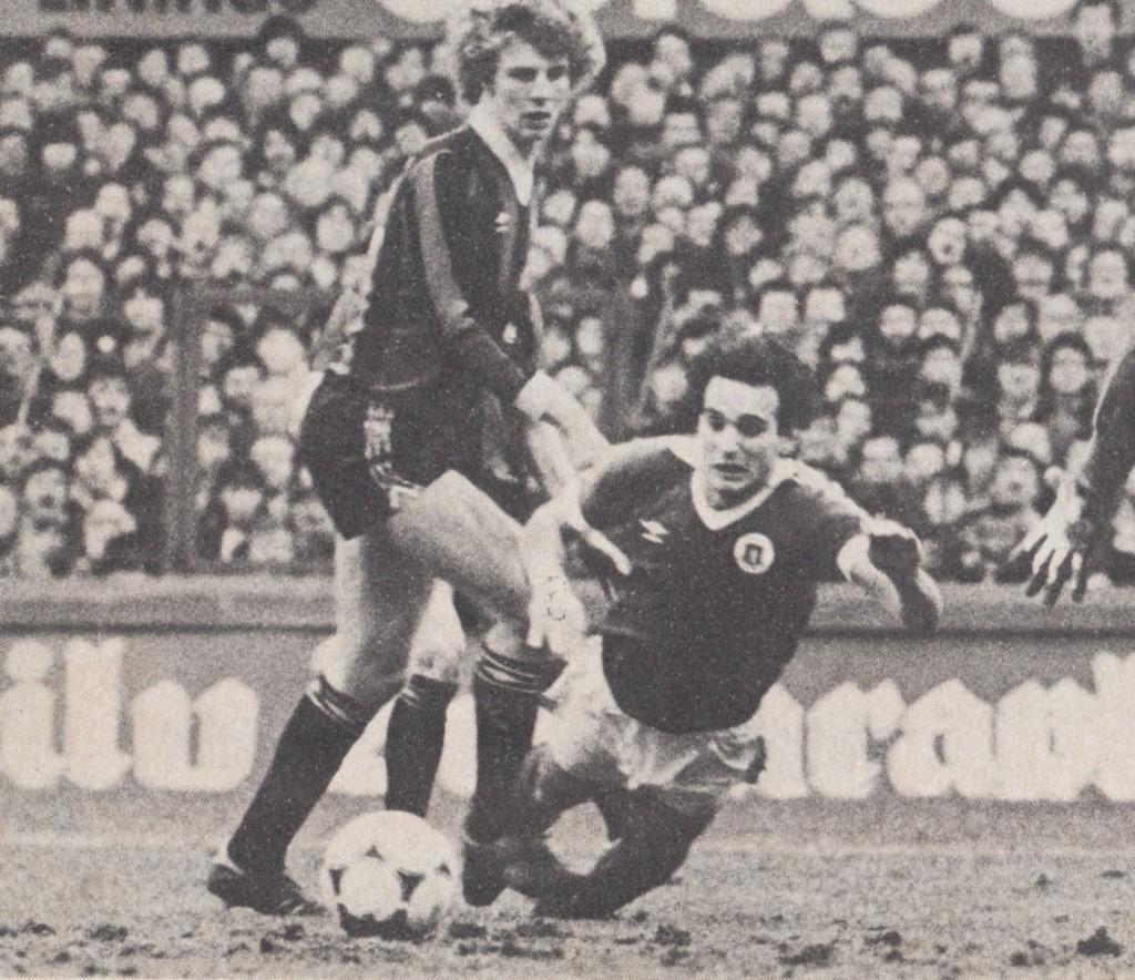 everton away fa cup 1980 to 81 varadi earns a pen