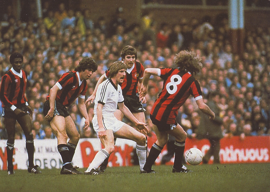 ipswich fa cup semi 1980 to 81 action5
