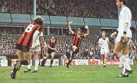 ipswich fa cup semi 1980 to 81 power goal celeb