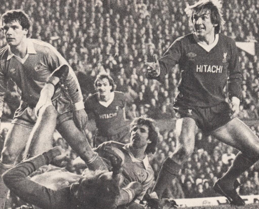 liverpool lgue cup away 2nd leg 1980 to 81 dagliesh goal