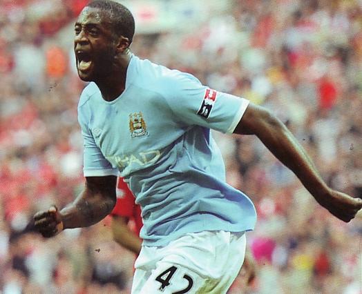 man utd fa cup 2010 to 11 yaya goal2