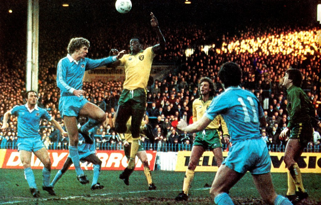 norwich fa cup 1980 to 81 action8