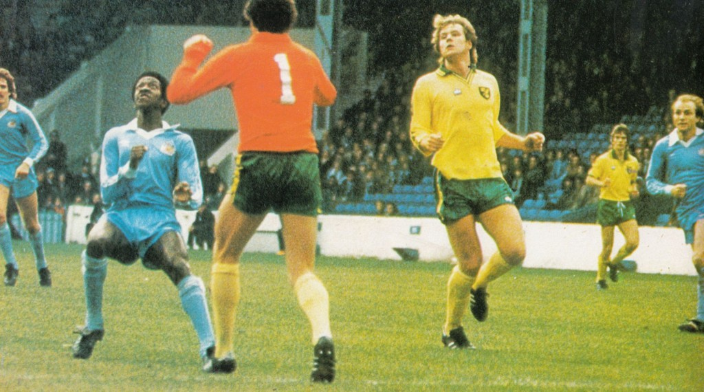 norwich home 1980 to 81 action