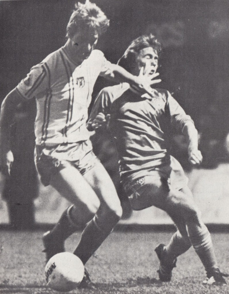 sunderland away fa cup 1982 to 83 action5
