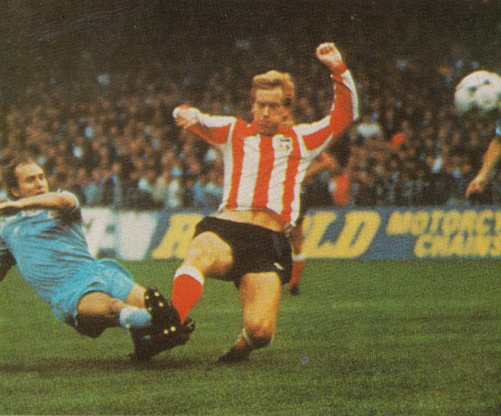 sunderland home 1980 to 81 action
