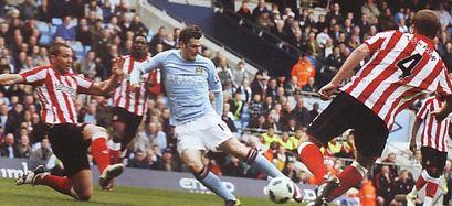 sunderland home 2010 to 11 johnson goal