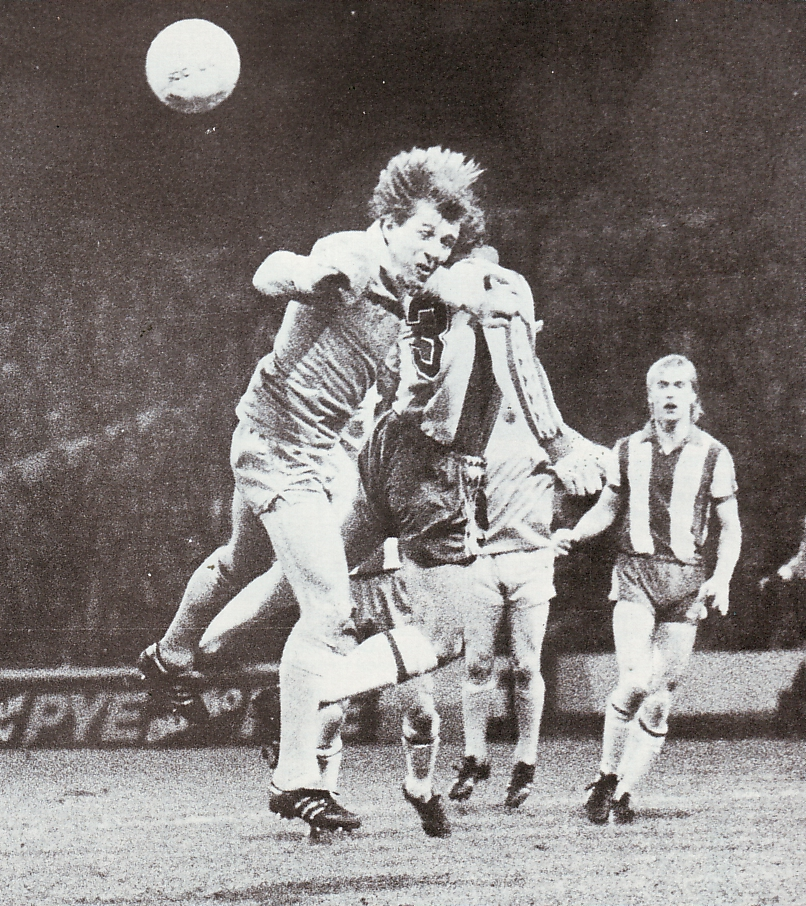 west brom home league cup 1980 to 81 action