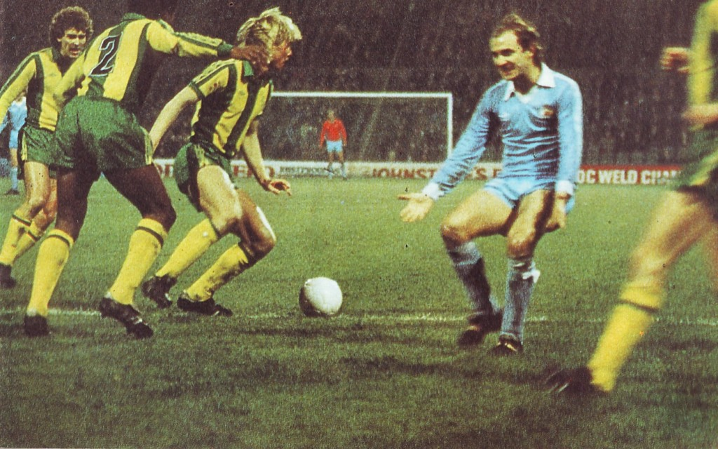 west brom home league cup 1980 to 81 action3