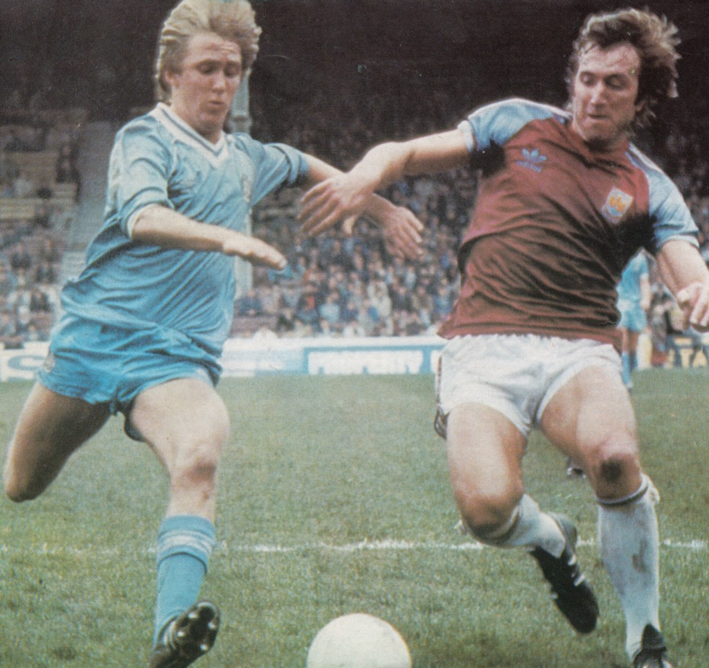 west ham home 1982 to 83 action