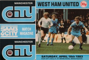 west ham home 1982 to 83 prog