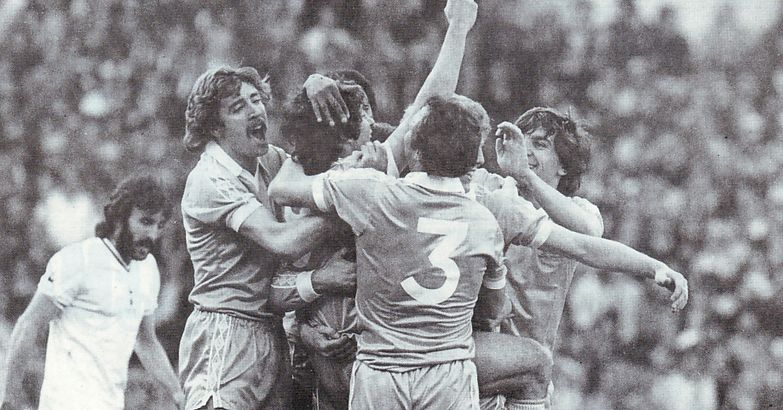 FA Cup Final Replay 1980 to 81 mckenzie celeb goal