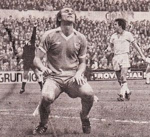 Leeds away fa cup 1977 to 78 action