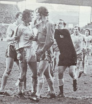 Leeds away fa cup 1977 to 78 trouble