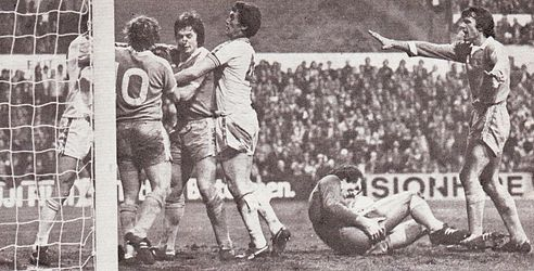 Leeds away fa cup 1977 to 78 trouble3