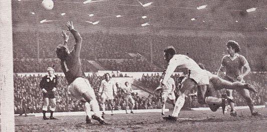 Leeds away fa cup 1977 to 78 tueart goal