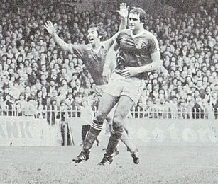 Notts Forest home 1979 to 80 deyna goal2