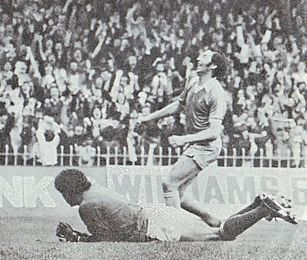 Notts Forest home 1979 to 80 deyna goal3