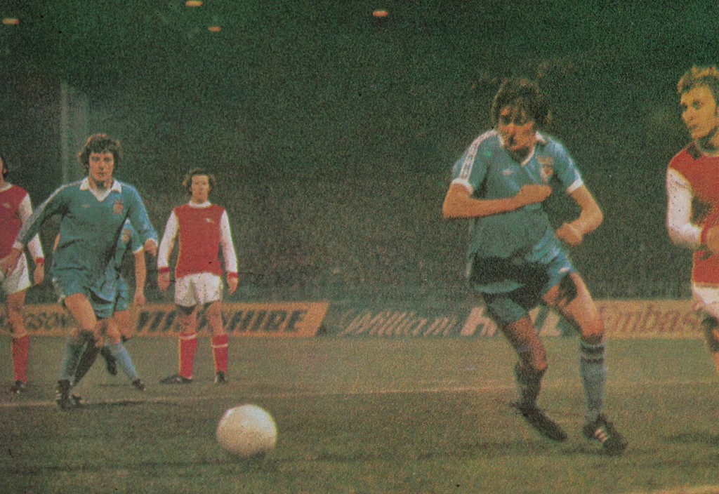 arsenal home fa cup 1977 to 78 action6