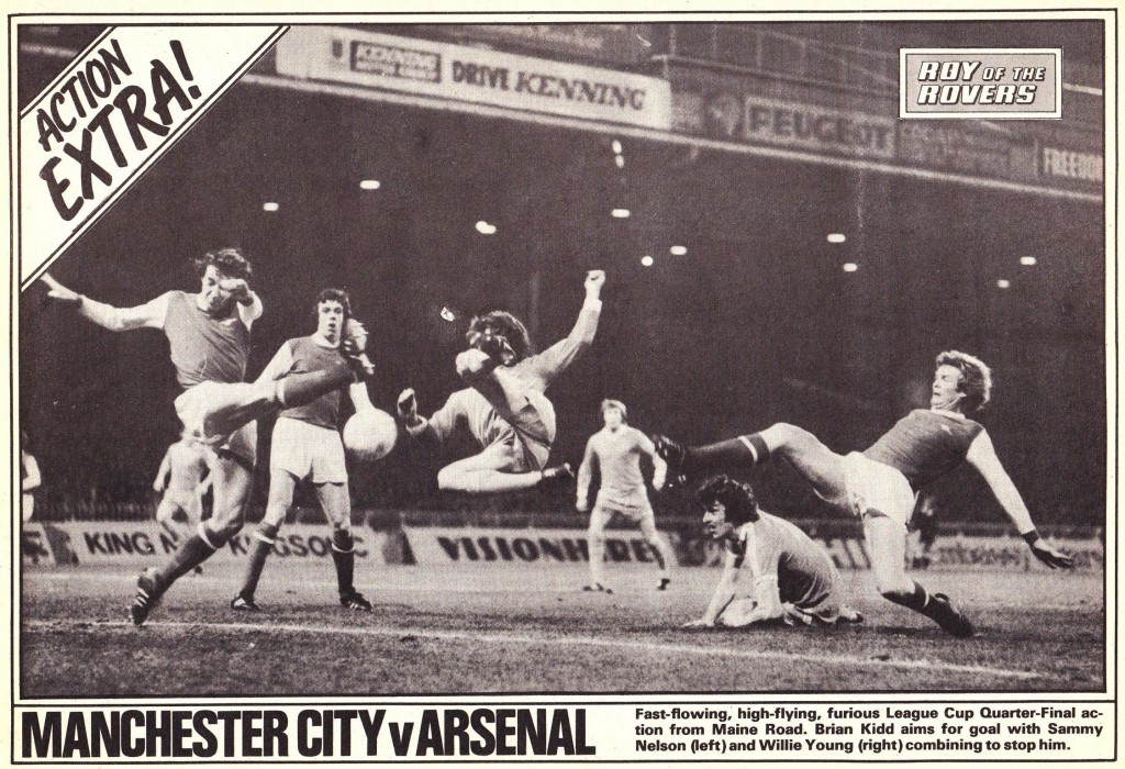 arsenal home league cup 1977 to 78 rotr