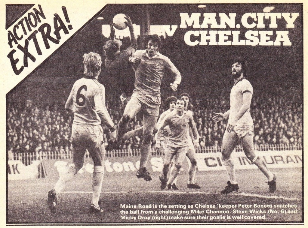 chelsea home 1977 to 78 rotr action