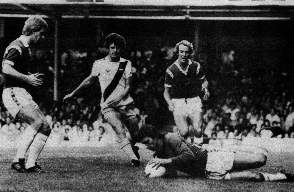 leicester away 1976 to 77 action5