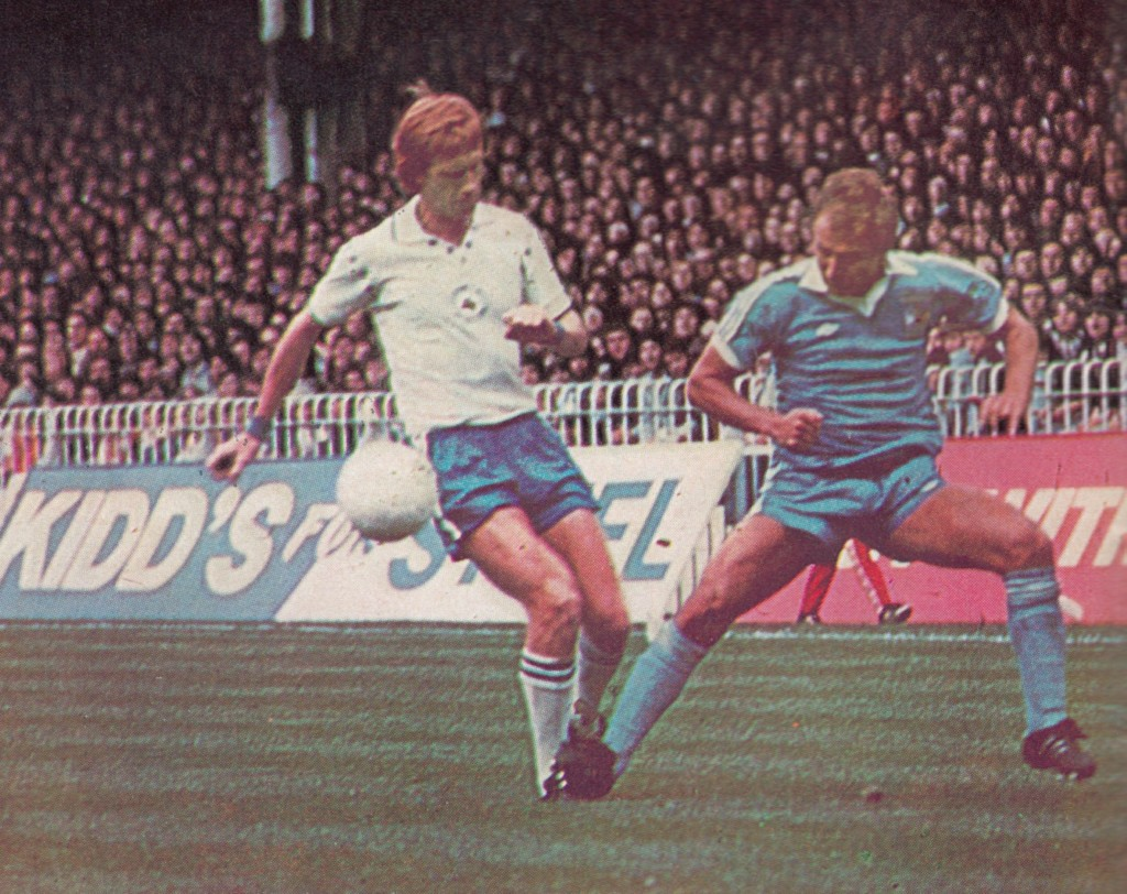 leicester home 1977 to 78 action9