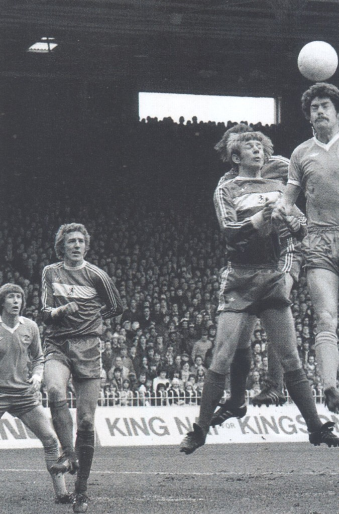 middlesbrough home 1977 to 78 action2