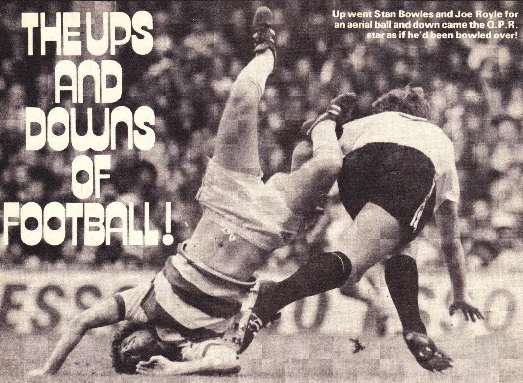 qpr away 1977 to 78 rotr action