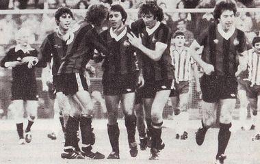 sheff weds league cup 1979 to 80 viljoen goal2