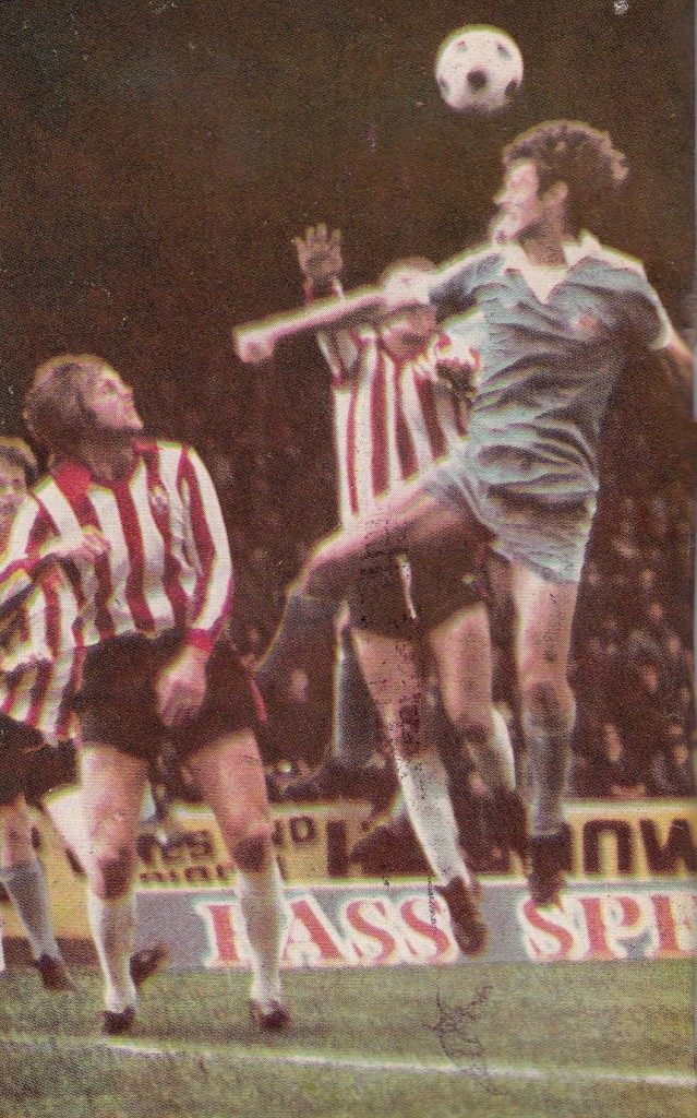 southampton tennants cup 1976 to 77 action