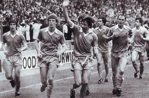 spurs fa cup final 1980 to 81 lap of honor