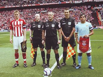 stoke fa cup final 2010 to 11 captains
