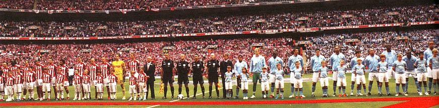 stoke fa cup final 2010 to 11 teams