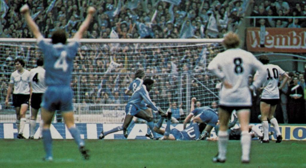 tottenhan 1981 cup final hutchinson goal 4