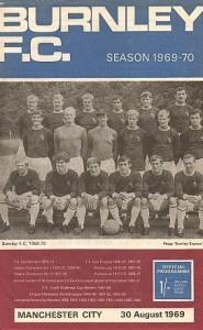 Burnley away 1969 to 70 prog