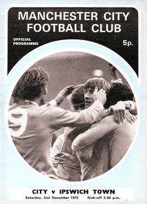 Ipswich home 1972-73 programme