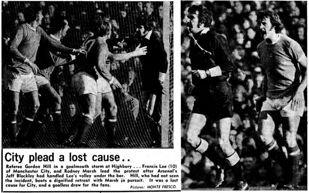 arsenal away 1972 to 73 pics from Daily Mirror 30 oct 72