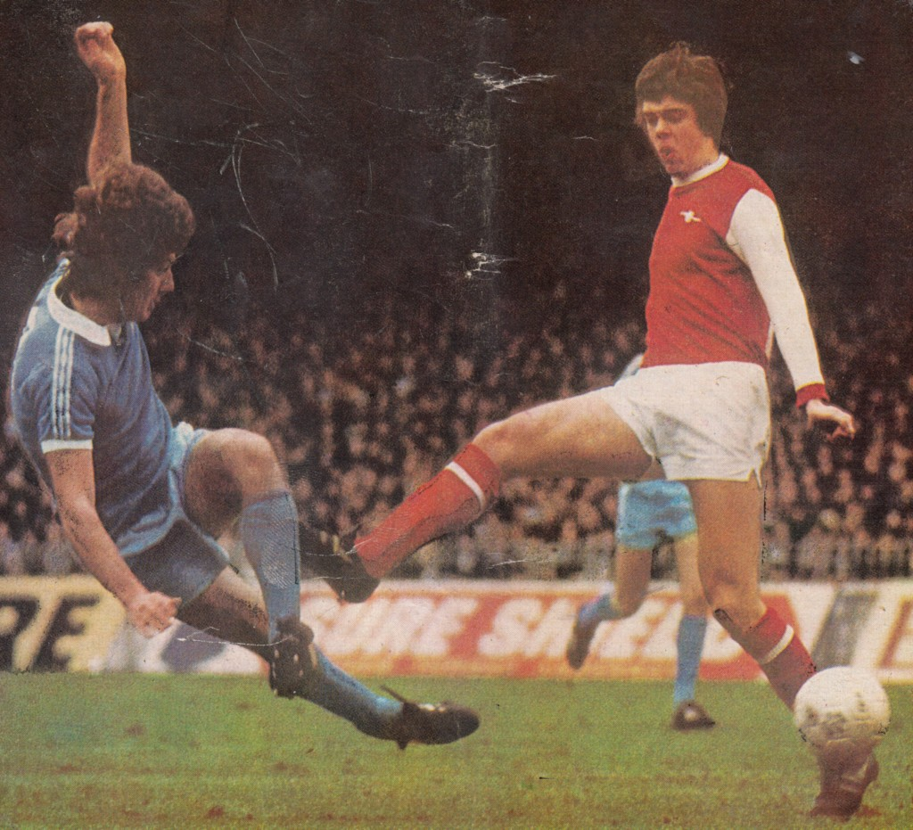 arsenal home 1976 to 77 action 2
