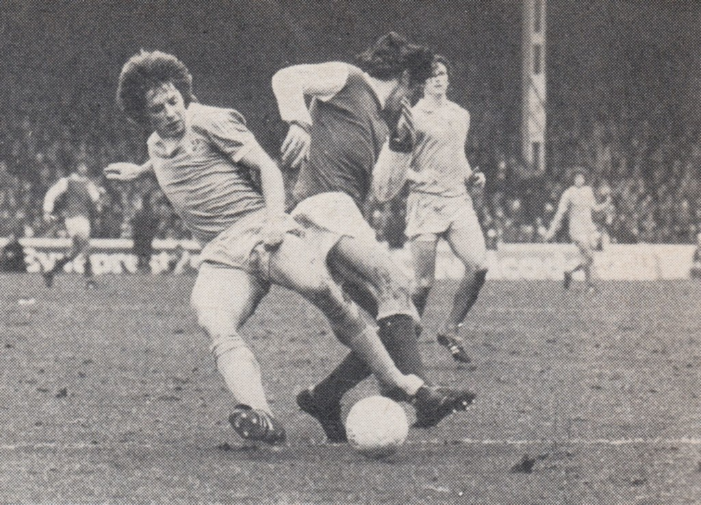 arsenal home 1976 to 77 action 3