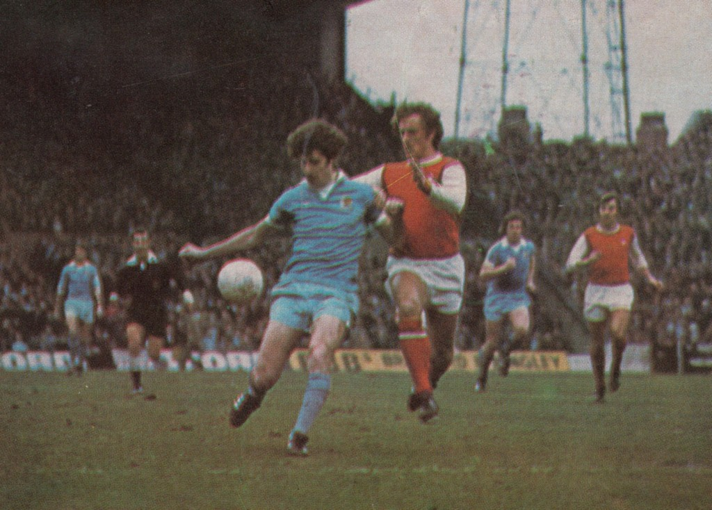 arsenal home 1976 to 77 action6