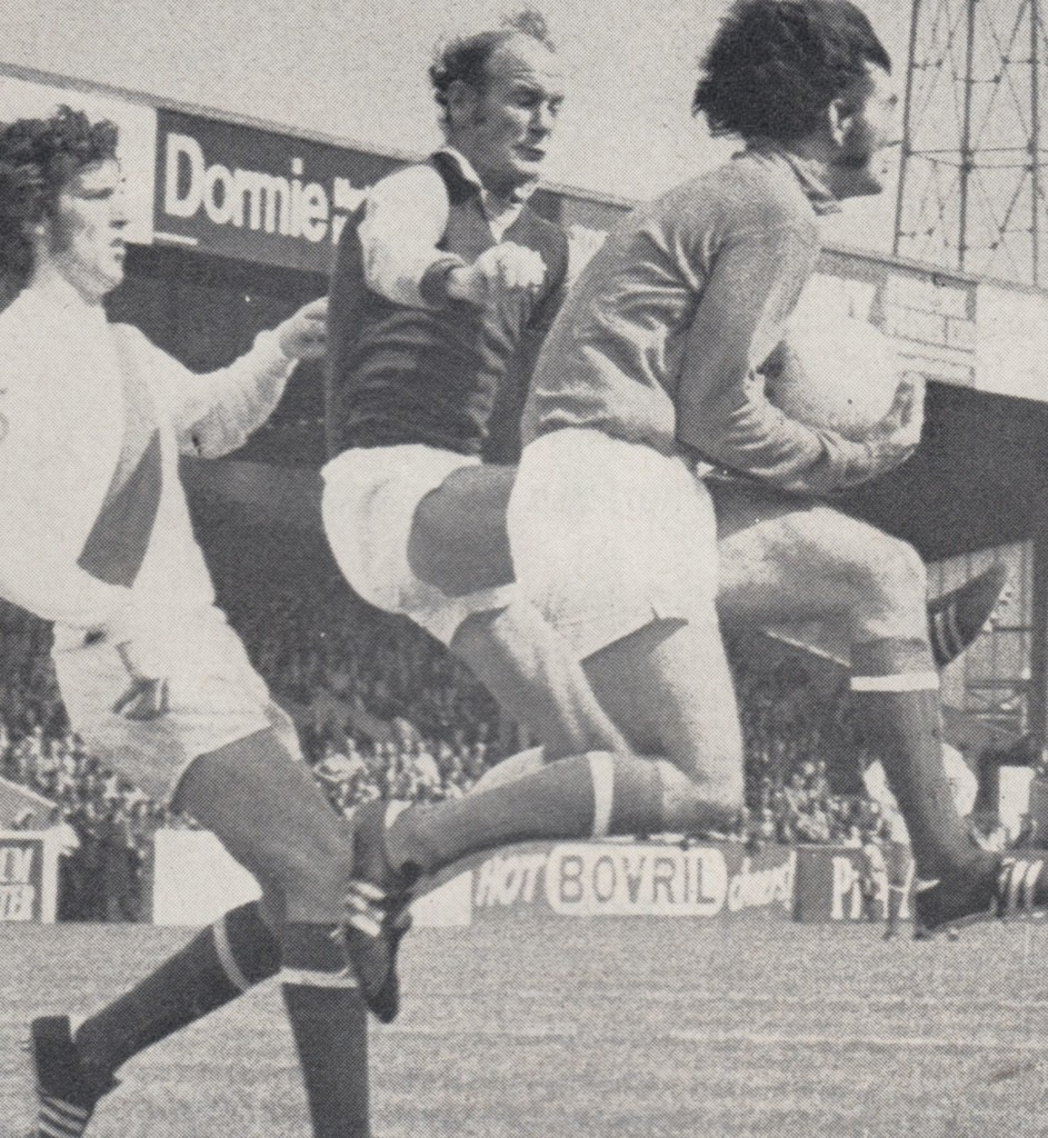 aston villa charity shield 1972 to 73 action 7