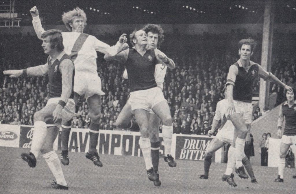 aston villa charity shield 1972 to 73 action 8