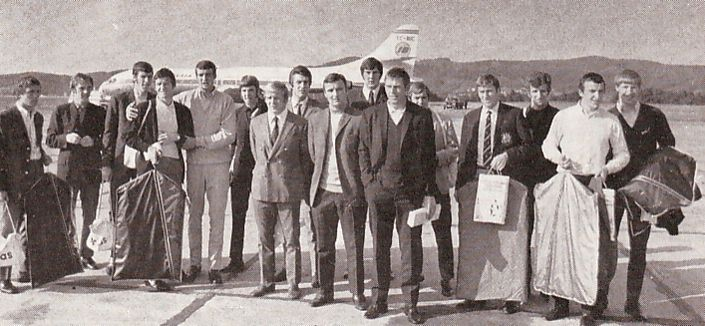 atletico bilbao away 1969-70 airport