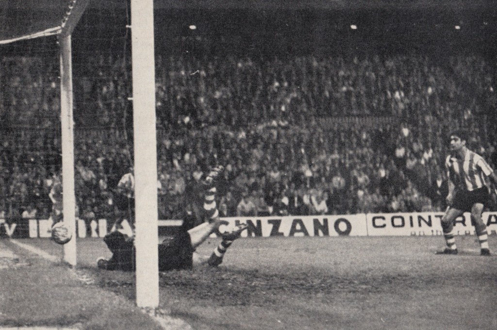 atletico bilbao away 1969 to 70 bowyer goala