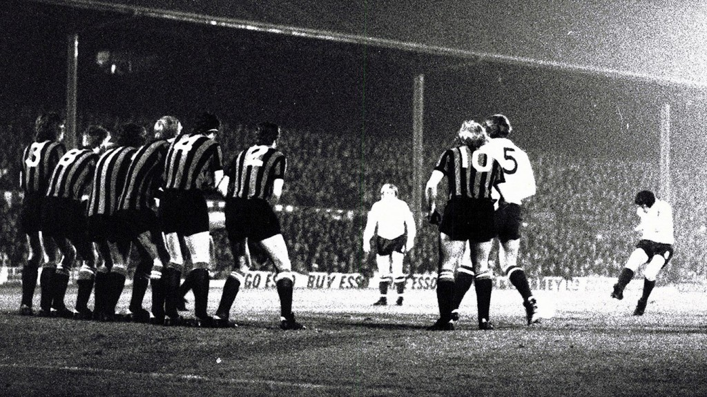 bury league cup 1972 to 73 action