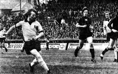 coventry away 1972 to 73 carr goal